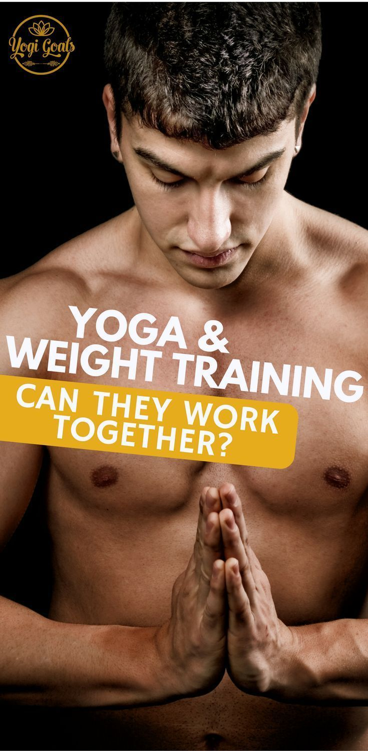 Yoga and weight training are two very different practices. Find out how to combine yoga and strength...