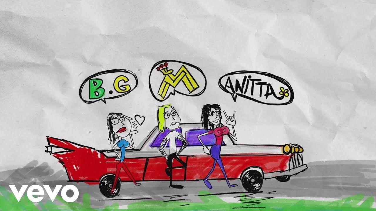 Maluma, Becky G, Anitta Mala Mía (Remix Lyric Video