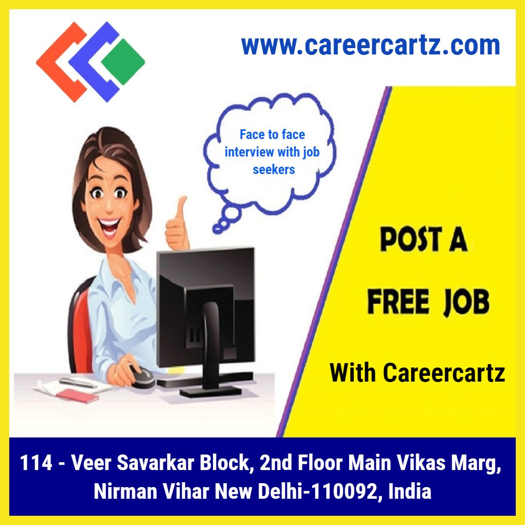 Employers Post Jobs for Free with Careercartz Free job