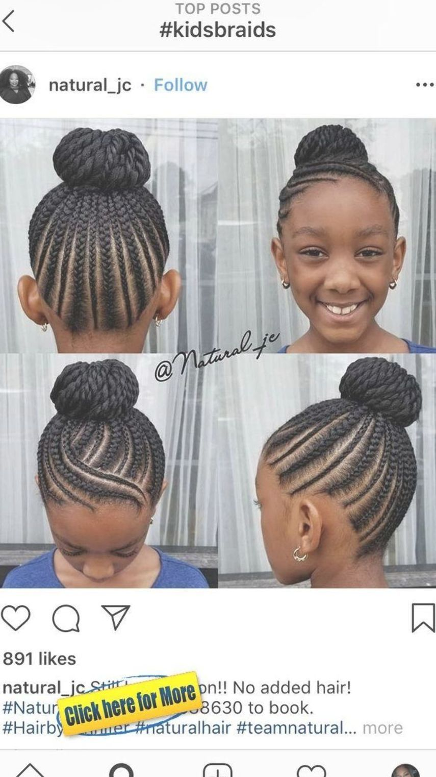 150 Awesome African American Braided Hairstyles Kids Braided