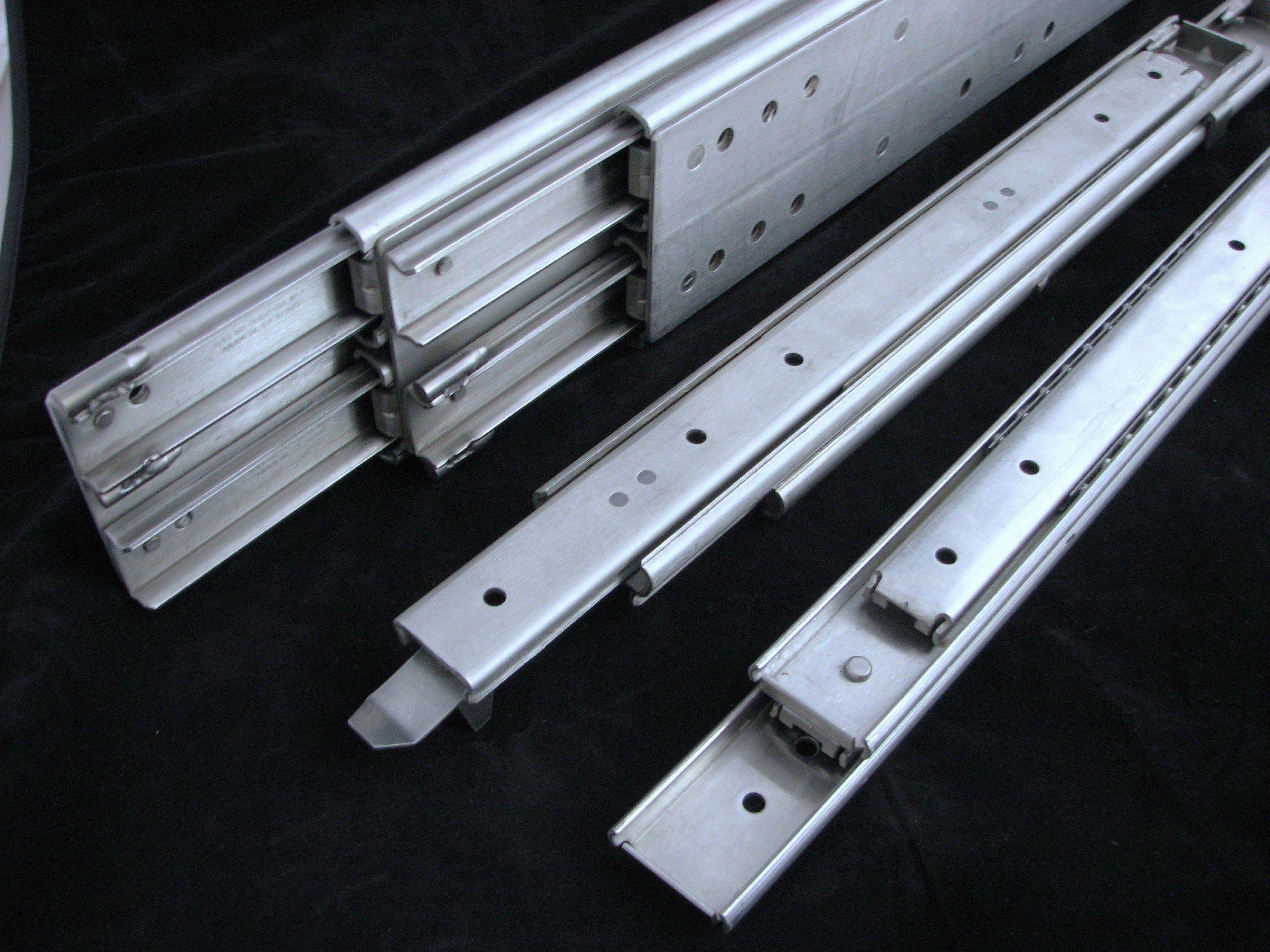 Heavy Duty drawer slide Self this is a great link to the heavy