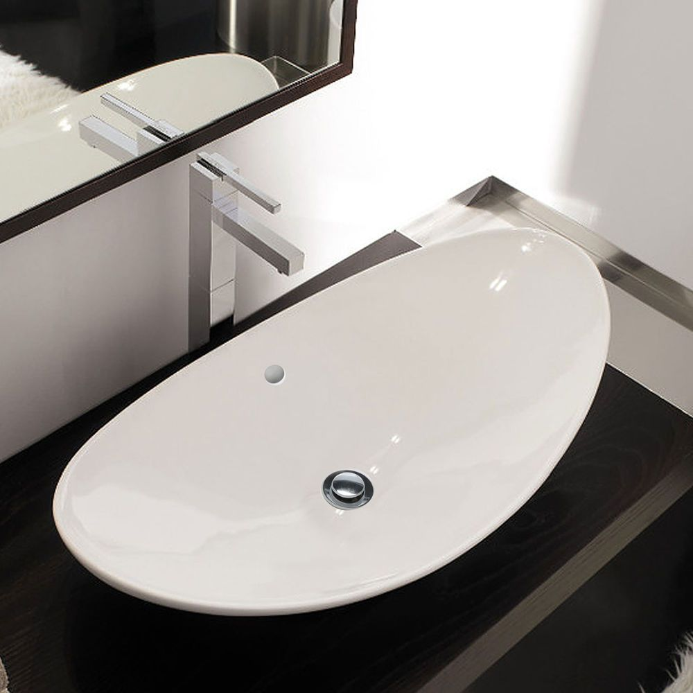 Design Keramik Oberfläche Waschbecken Waschschale Aufsatzbecken m ... | {Waschbecken küche keramik 72}