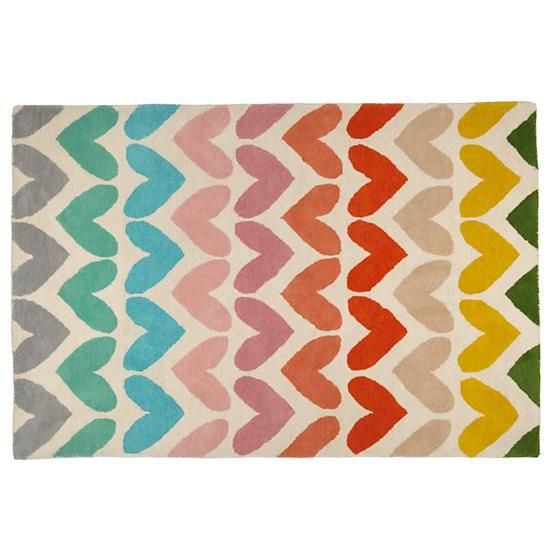 Look It S Time For Us To Have A Serious Conversation This Colorful Heart Rug Is A Great Way To Add A Bit Of Color Into An With Images Kids Rugs Kids