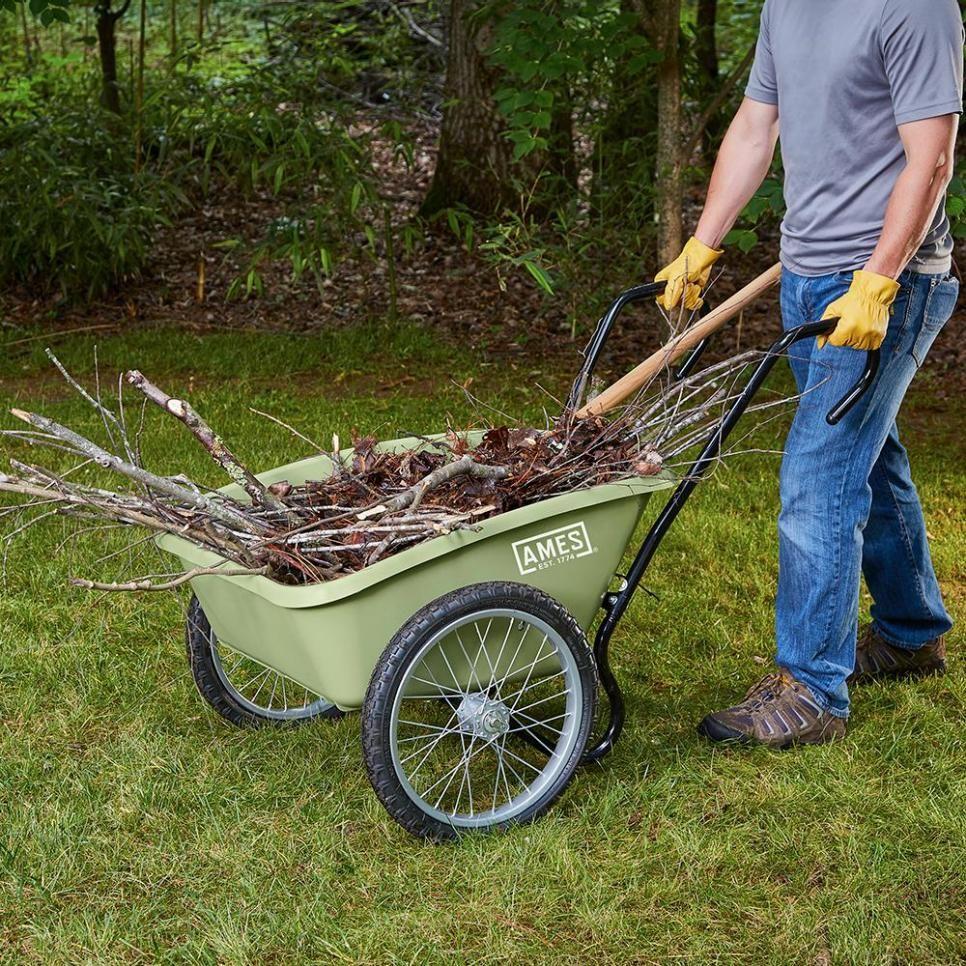 Best Garden Carts And Wheelbarrows Hgtv With Images Garden