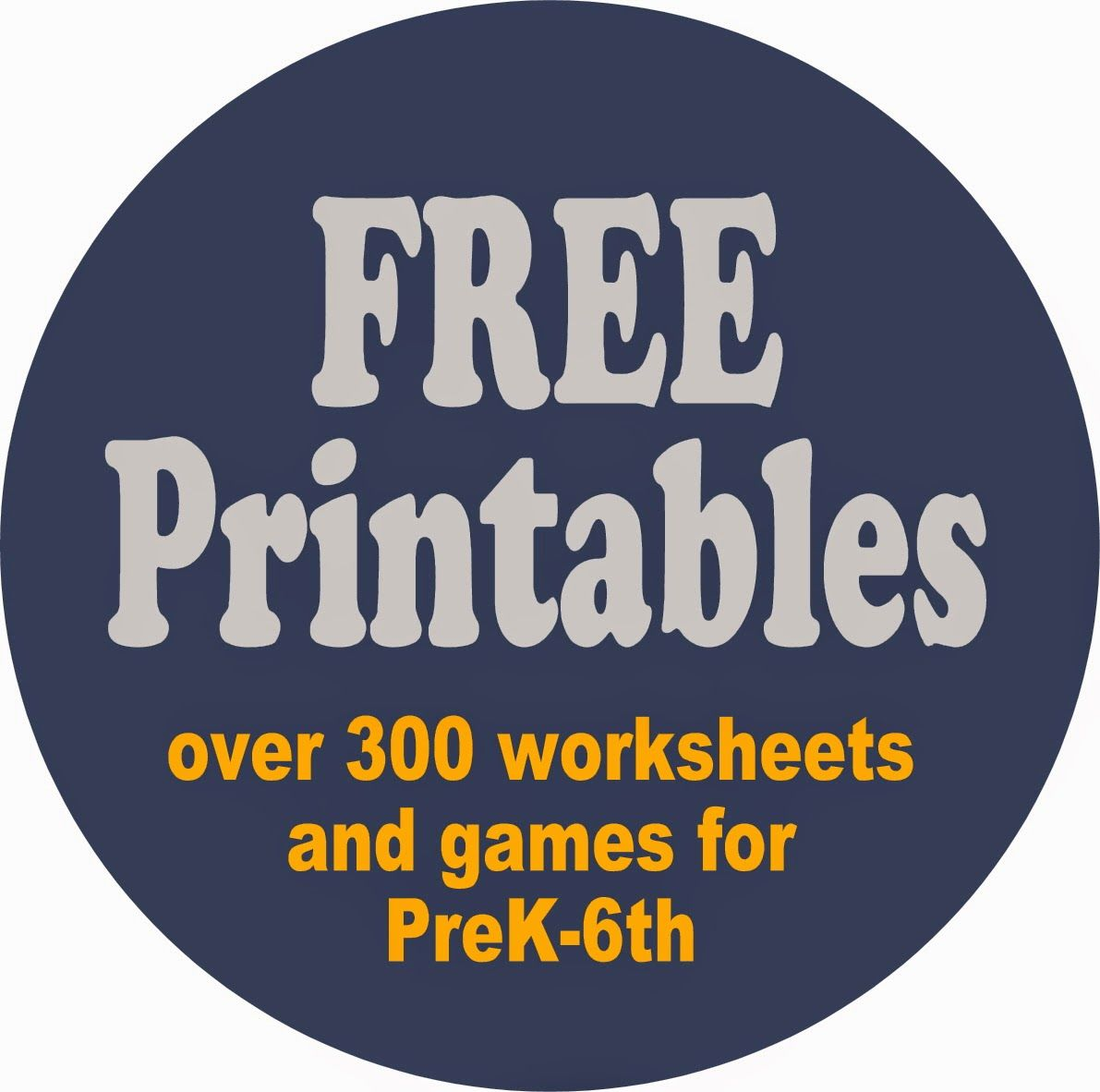 Tons Of Free Worksheets For Kids
