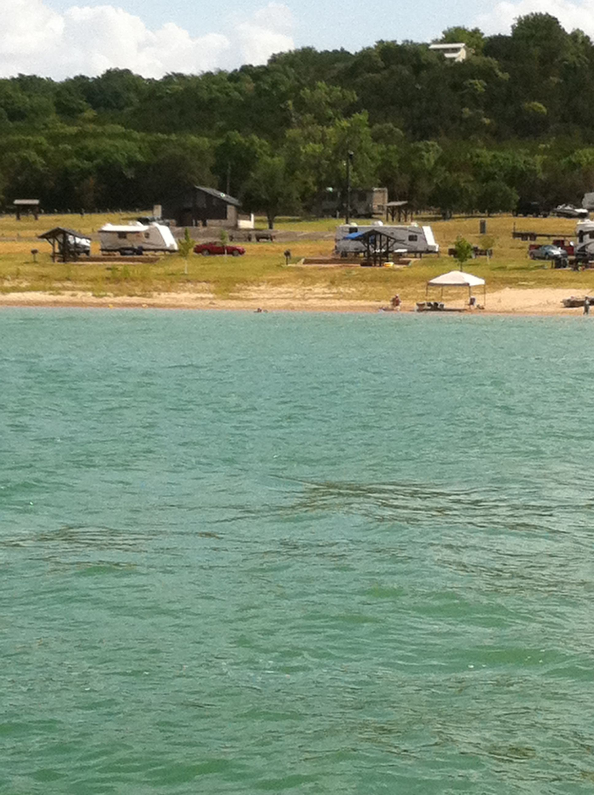 Belton lake texas westcliff rv park belton lake tx camping for Campsites with fishing