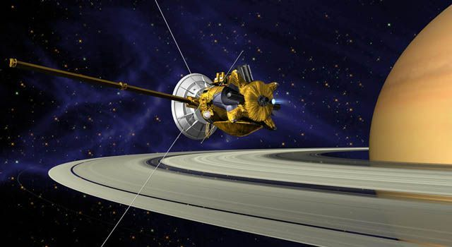 في عام 1997 شهد العالم إطلاق سفينة فضائية عملاقة إلى الفضاء