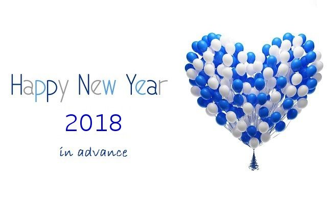 New Year Advance Wishing Quotes 2018 | Happy New Year 2018 Wishes ...