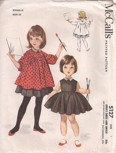 McCALLS 5127 | revistas ropa niños antiguas | Pinterest