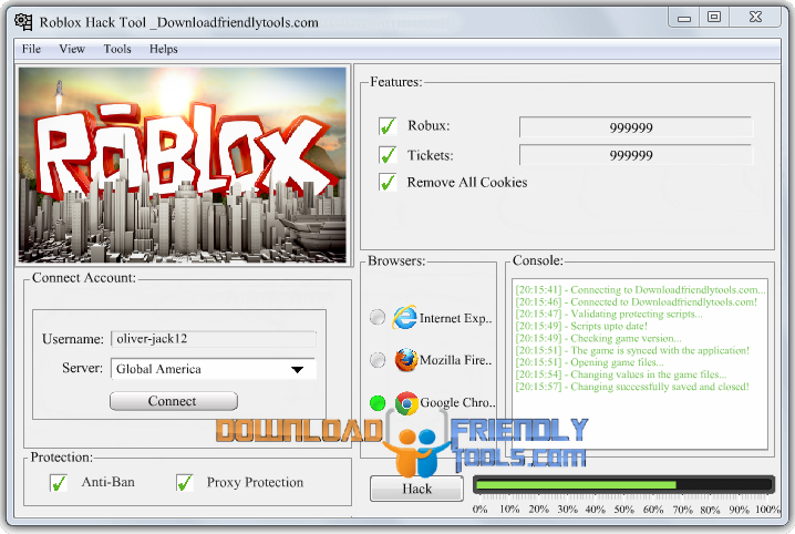 Pin by Download Friendly Tools on Roblox Hack Tool 2016 No