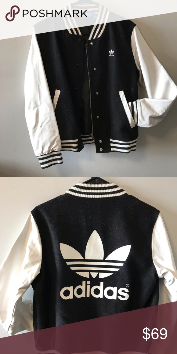 Adidas Jacket It's a rare women's letterman jacket from