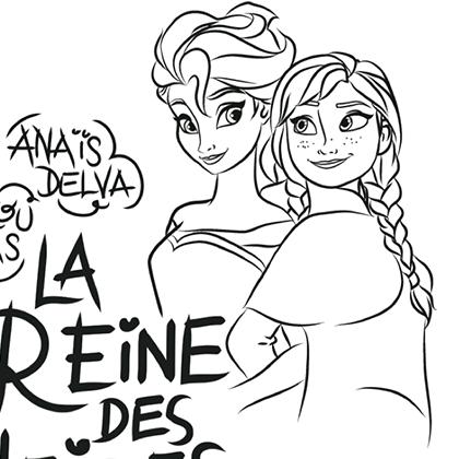Coloriage La Reine Des Neiges 2.Coloriage La Reine Des Neiges We Love Disney 2 Coloriage