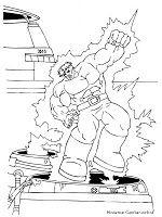 Mewarnai Gambar Hulk Color Fun Coloring Pages Hulk
