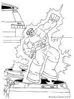Mewarnai Gambar Hulk Coloring Pages Pinterest Zombie