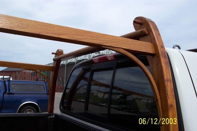 Wooden Truck Rack Kayak Storage Rack Kayak Rack Wooden