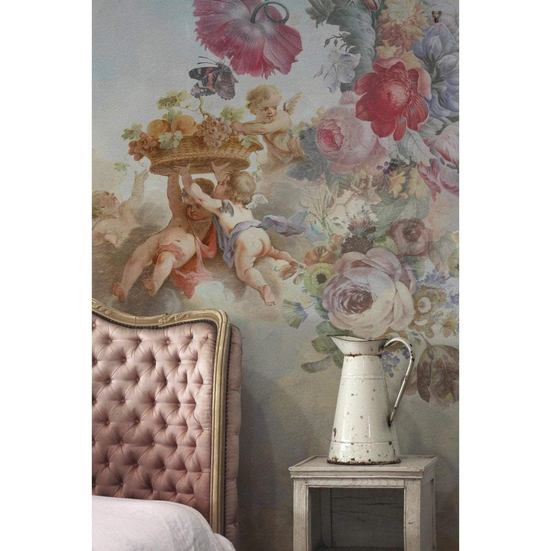 French Shed Wall murals, Wall wallpaper, Wallpaper