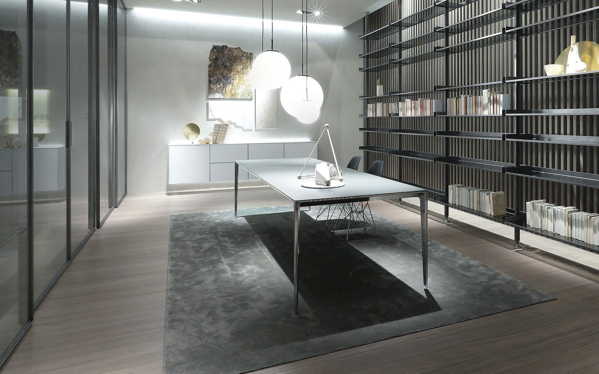 Tavolo Rimadesio ~ The long island table by rimadesio from pure interiors interior