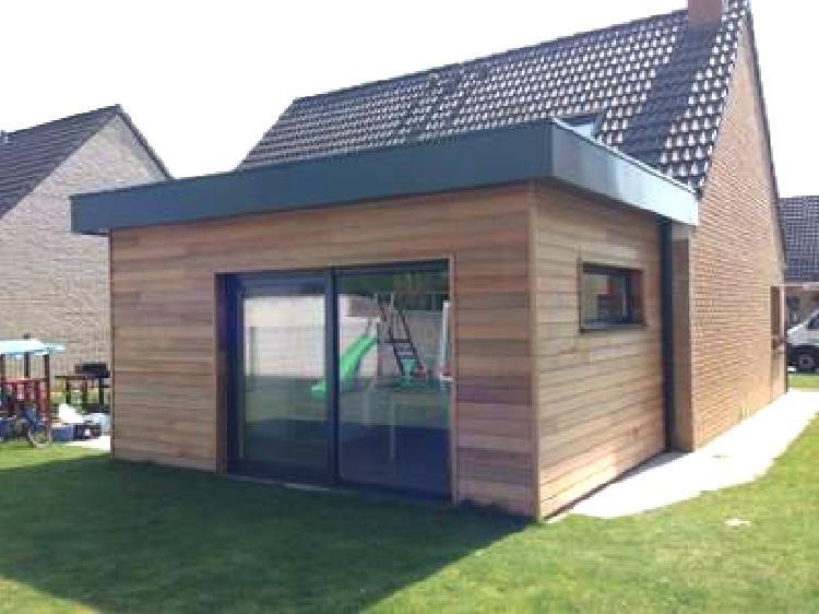 10 Prix Construction Garage M2 Ce Que Vous Devez Savoir In 2020 Bungalow Renovation House Exterior Small House Extensions