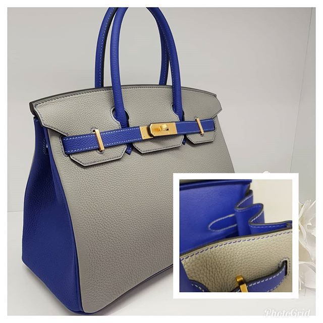 93fb615c1f Another HSS at normal Birkin Price!  24000 wire. New Gris Mouette and Blue  Electric