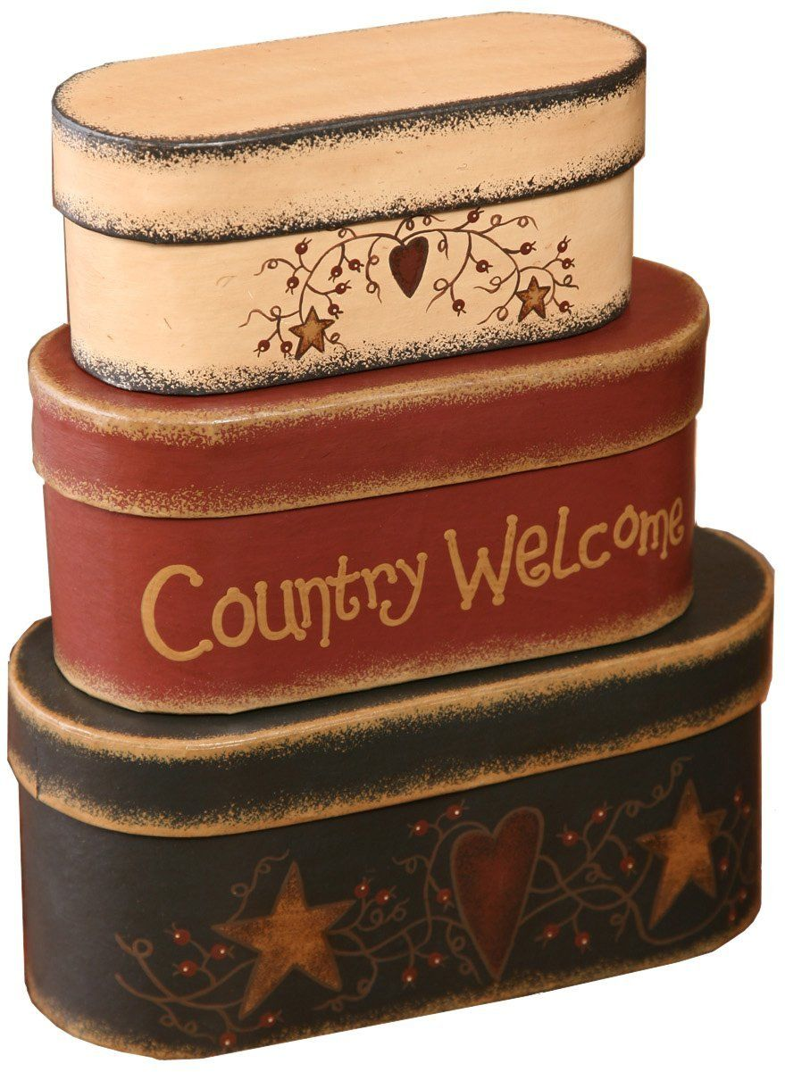 Country nesting boxes country crafts nesting