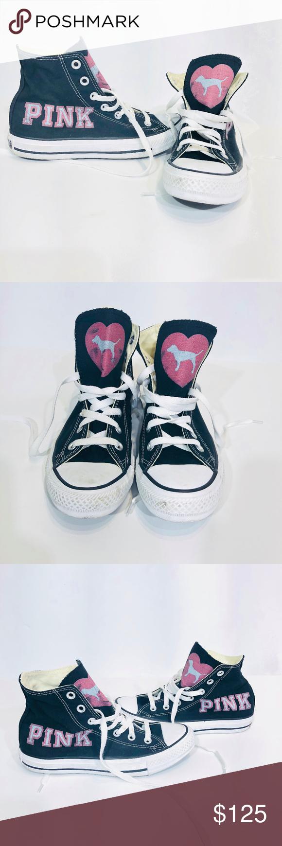 Victoria S Secret Pink Converse Display Shoes Sz 7 My Posh Closet