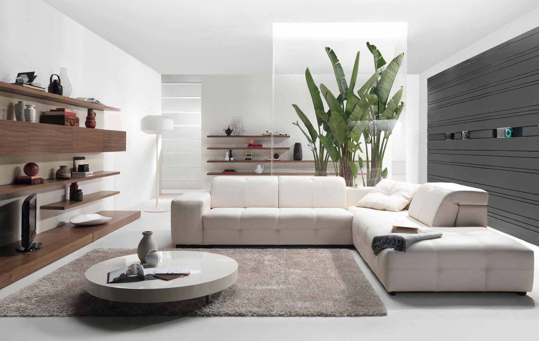 20 Gorgeous Contemporary Living Room Design Ideas | Living rooms ...
