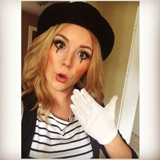 mime makeup without white - Google Search …  a184442ec70