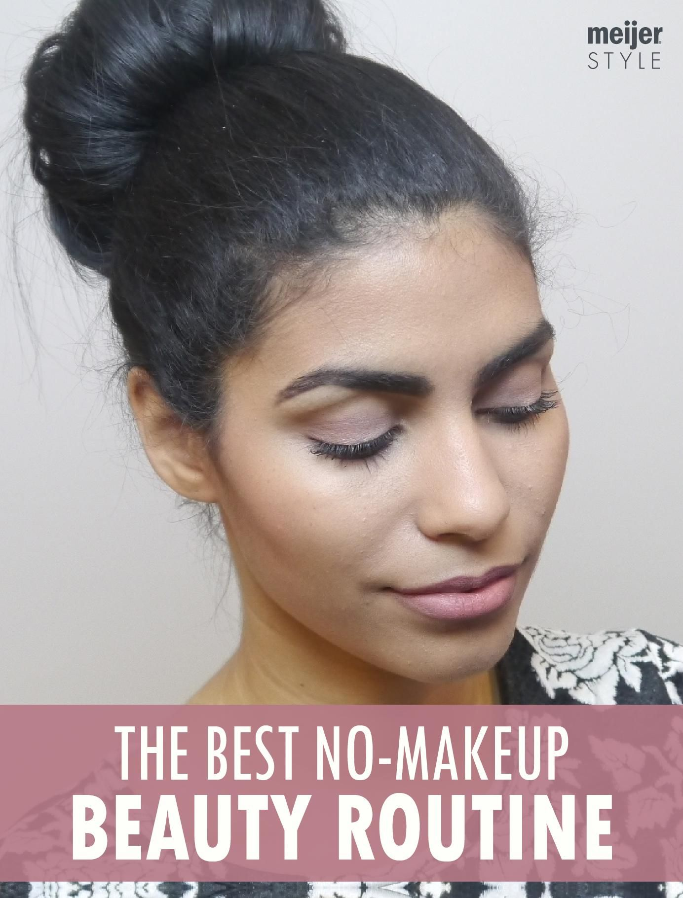 The Best NoMakeup Makeup Routine (With images) Makeup