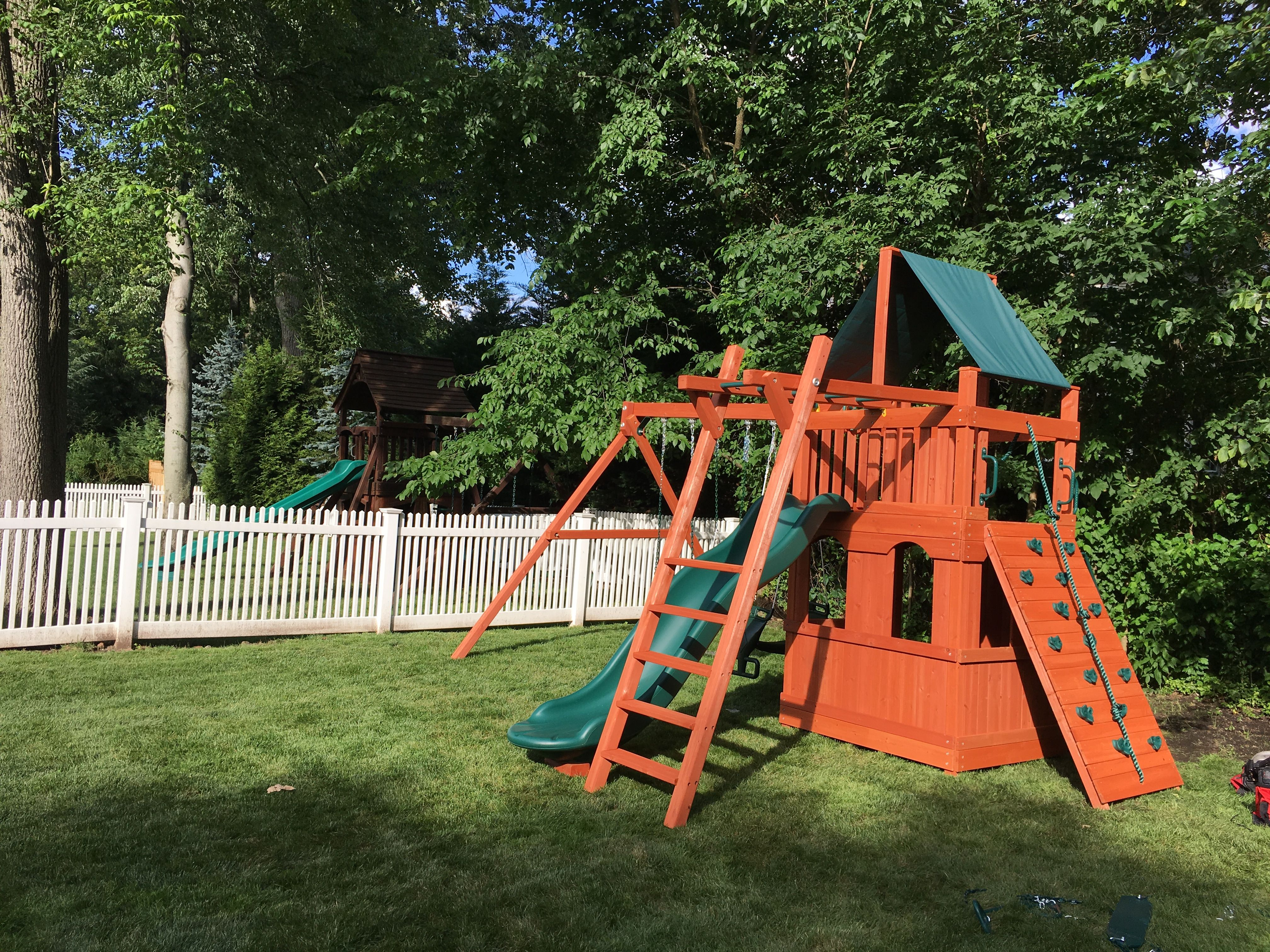 Turbo original fort playhouse combo some of our installations