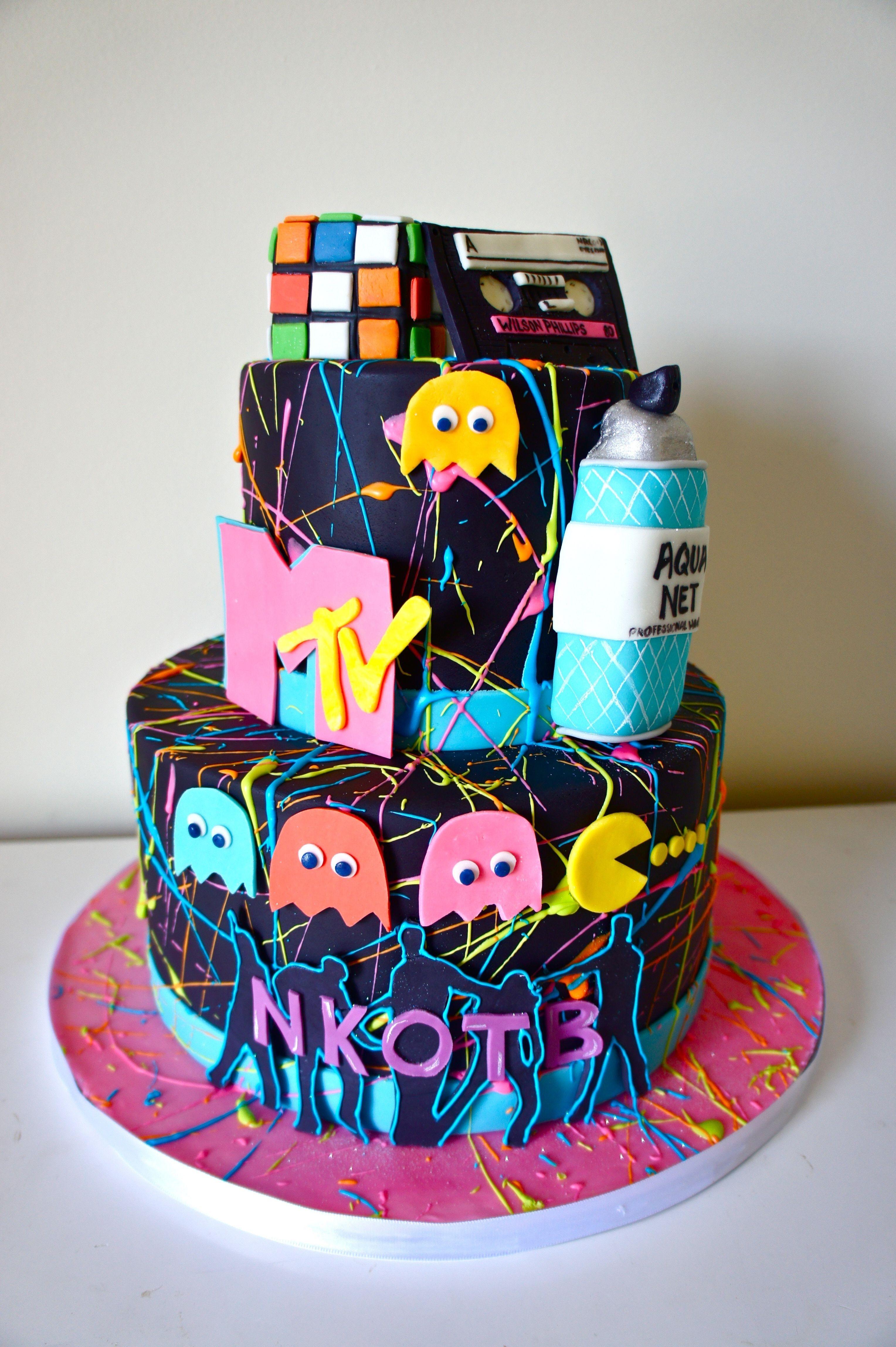 Peachy 25 Elegant Image Of 80S Birthday Cake Adult Birthday Cakes Funny Birthday Cards Online Elaedamsfinfo