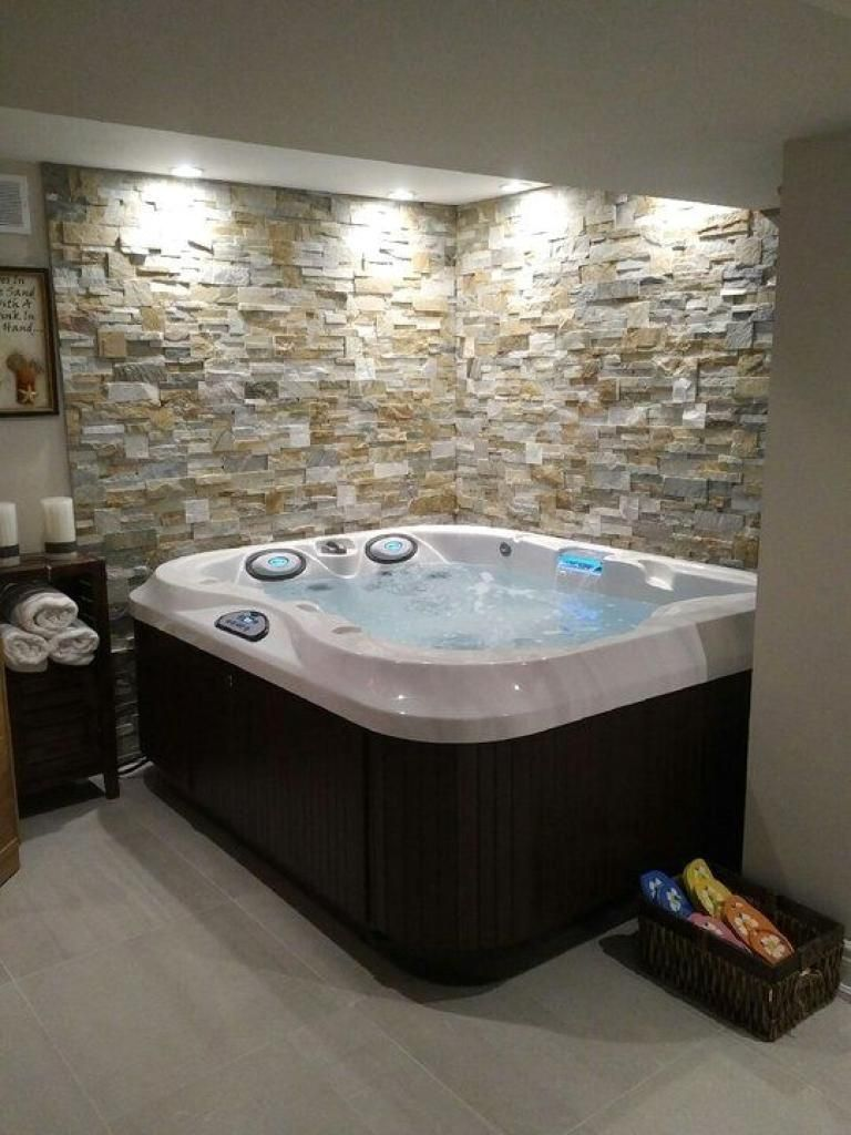 Beautifully Admirable Hot Tub Room Decor Ideas Luxurybathroomhottubs Hot Tub Room Indoor Hot Tub Home Spa Room