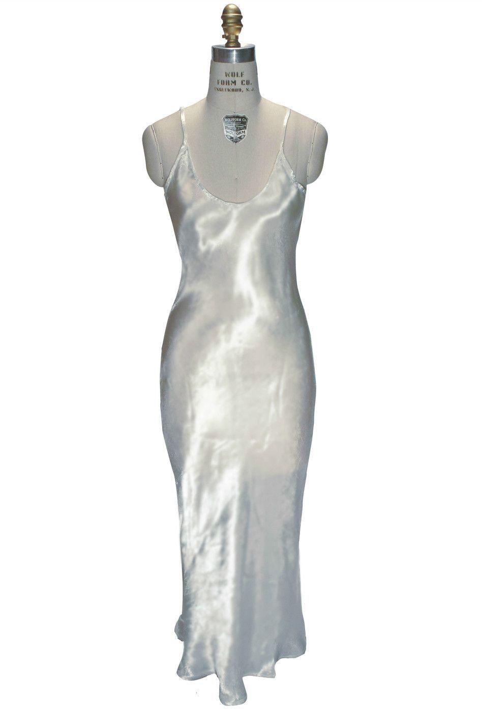 Wedding dress slip  us Bias Glamour Full Length Gatsby Wedding Bridal Slip Dress