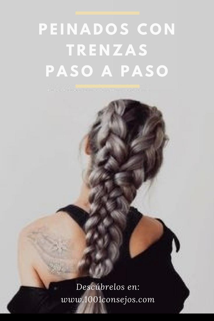 Trenzas Para Cabello Largo Paso A Paso