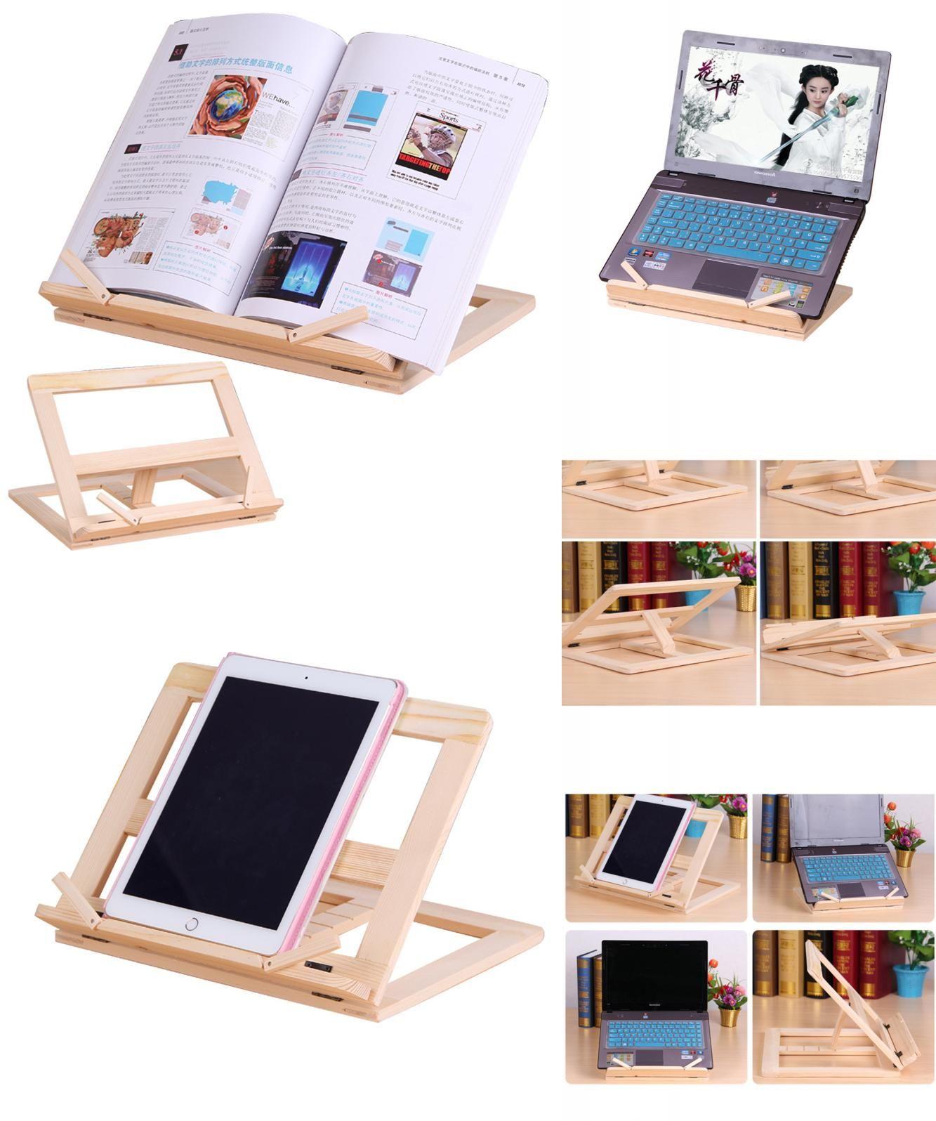 visit to adjustable wooden reading bookshelf foldable