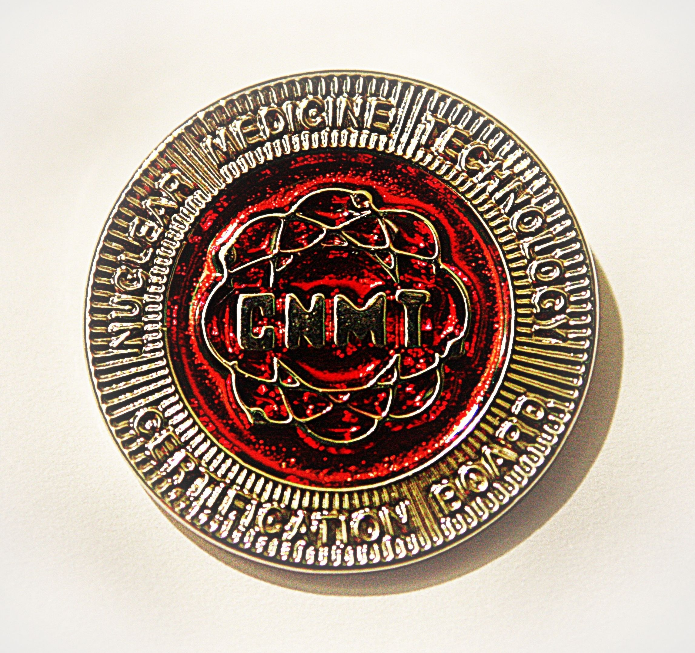 Silver Cnmt Pin For Certified Nuclear Medicine Technologists