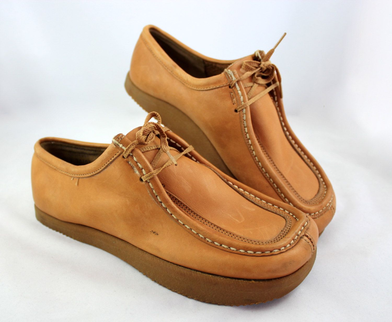 Vintage Lindsay Weir Earth Shoes by ANNE KALSO in Honey Leather. Holy cow I  remember