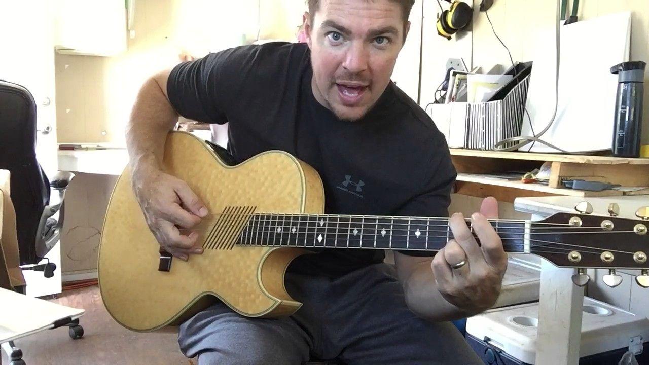 Parachute Chris Stapleton Beginner Guitar Lesson Youtube