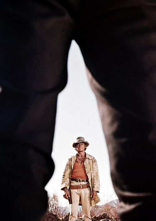 Charles Bronson In Once Upon A Time In The West Dir Sergio Leone