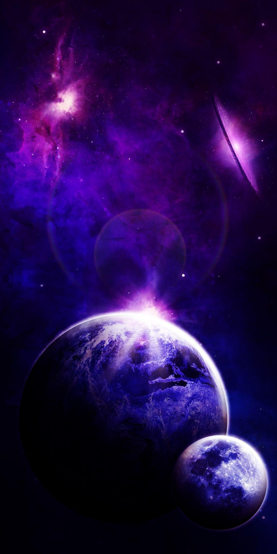 Space Planet Astronomy Cosmos Dark 1080x2160 Wallpaper Galaktiki Fonovye Izobrazheniya Kosmos