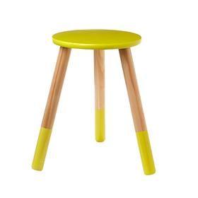 Terrific Yellow Stool Kmart 12 00 Glenwood Julians Room Machost Co Dining Chair Design Ideas Machostcouk