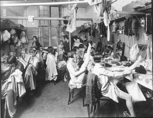 Woman's dressing room c. 1920's