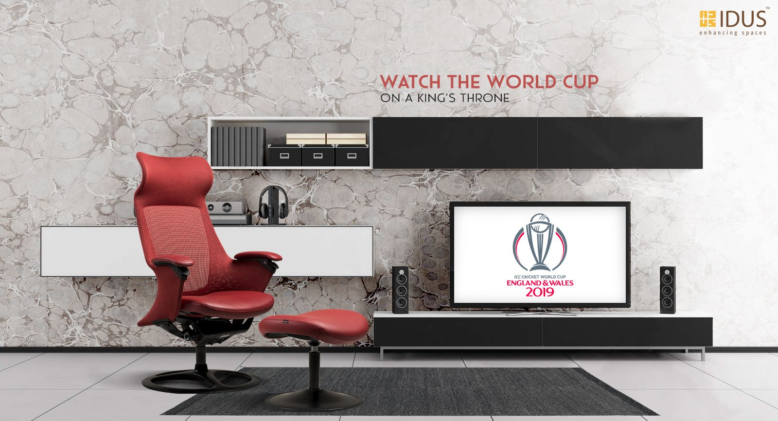 Watch The World Cup On A King S Throne Available At Idus Furniture