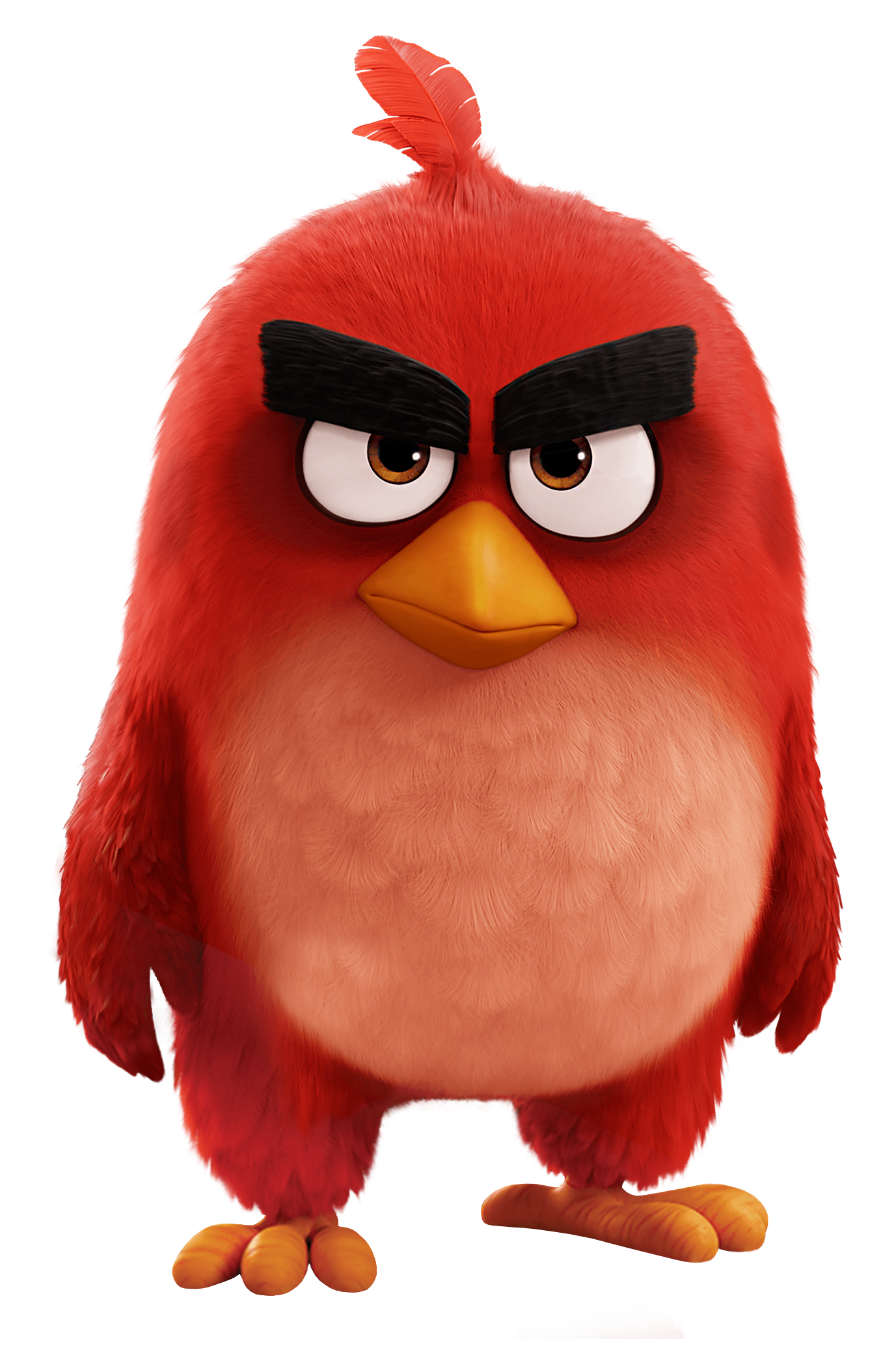 Red Bird The Angry Birds Movie Png Transparent Image Png 1377 2068 Fond D Ecran Dessin Dessin Anime Enfance Angry Birds