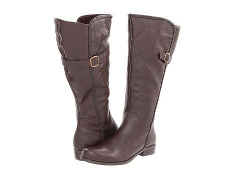 16abad84045a Gabriella Rocha Katy Double Wide Calf brown leather boot  179.00 ...