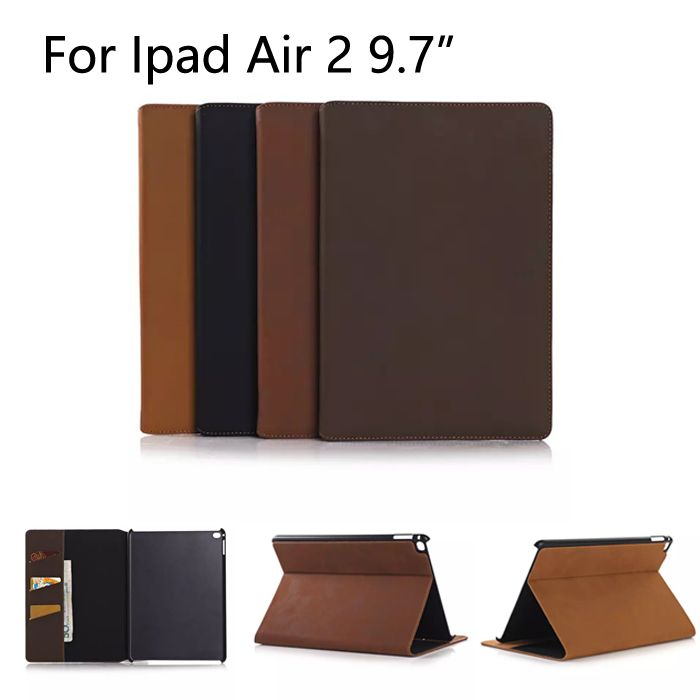 High Quality Stand Case Cover For iPad Air 2 PU Leather ...