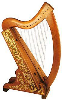 22 String Harp Harps And Related Info Harp Instruments Holy Land