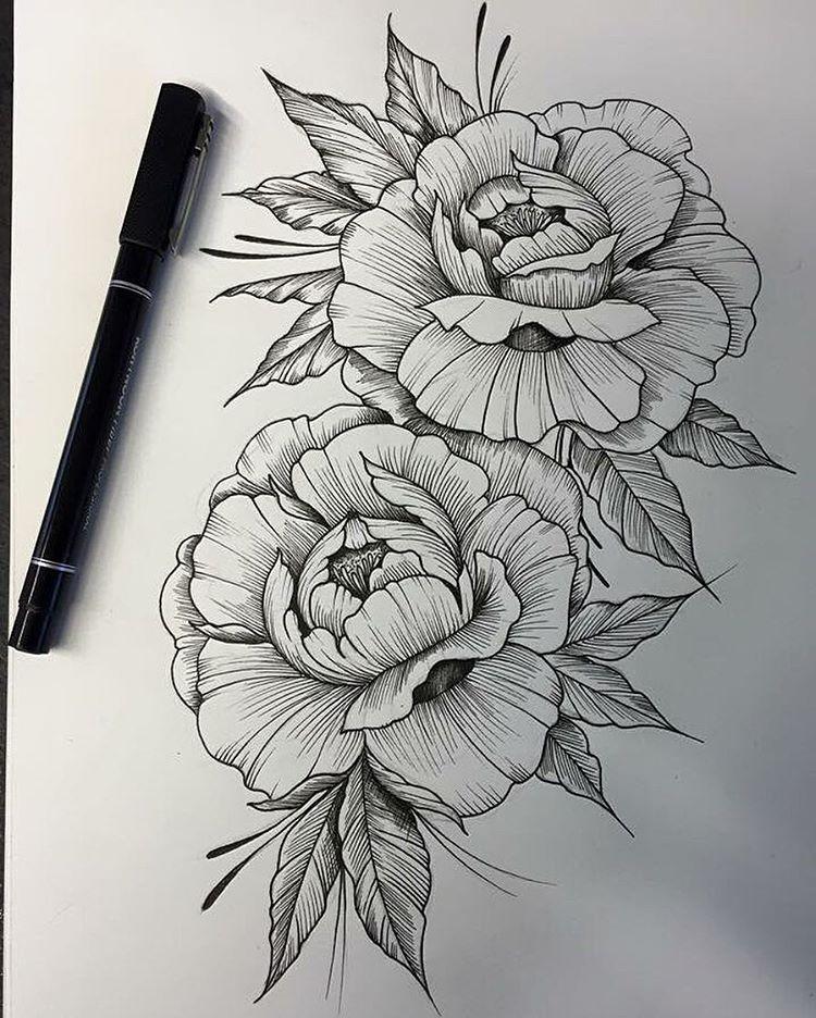 Amazing Roses Art Desenhos Para Tatuagem Desenhos De