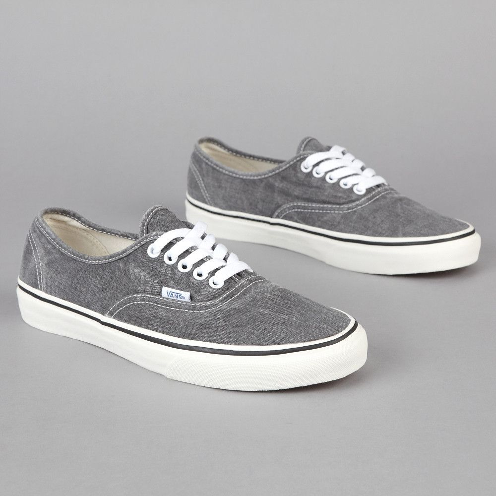 Vans Authentic Washed grey.  df01cde2fb