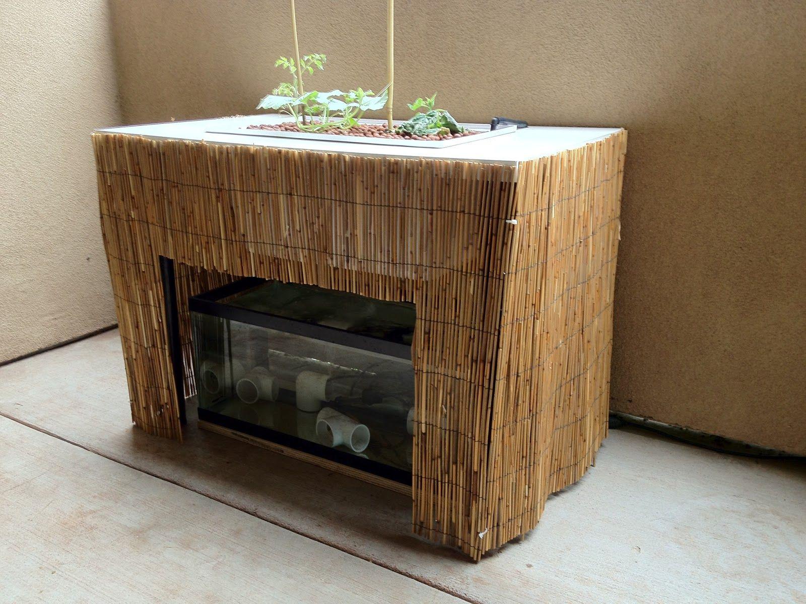 Diy Apartment Patio Aquaponics Fish Tank