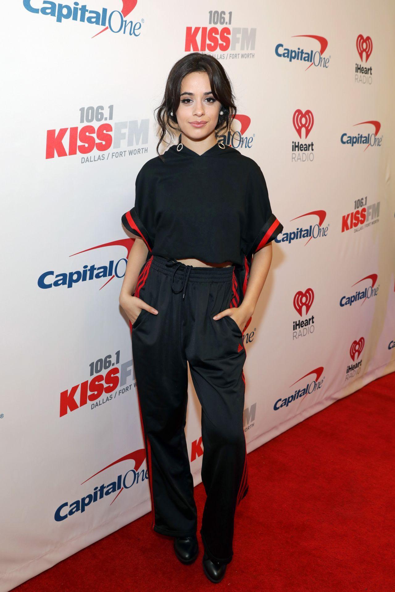Camila Cabello 106 1 Kiss Fm S Jingle Ball 2017 Red Carpet In